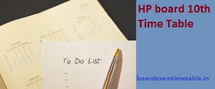 HP-Board-10th-Time-Table-2020