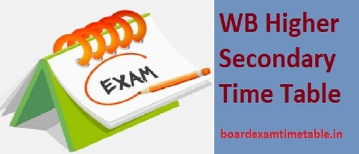 WB-Higher-Secondary-Time-Table-2020