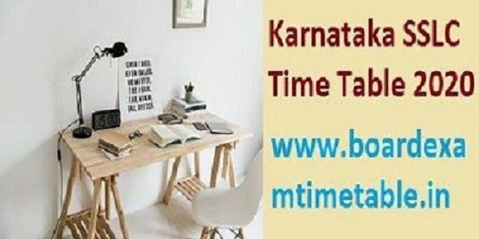karnataka-sslc-exam-time-table-2020